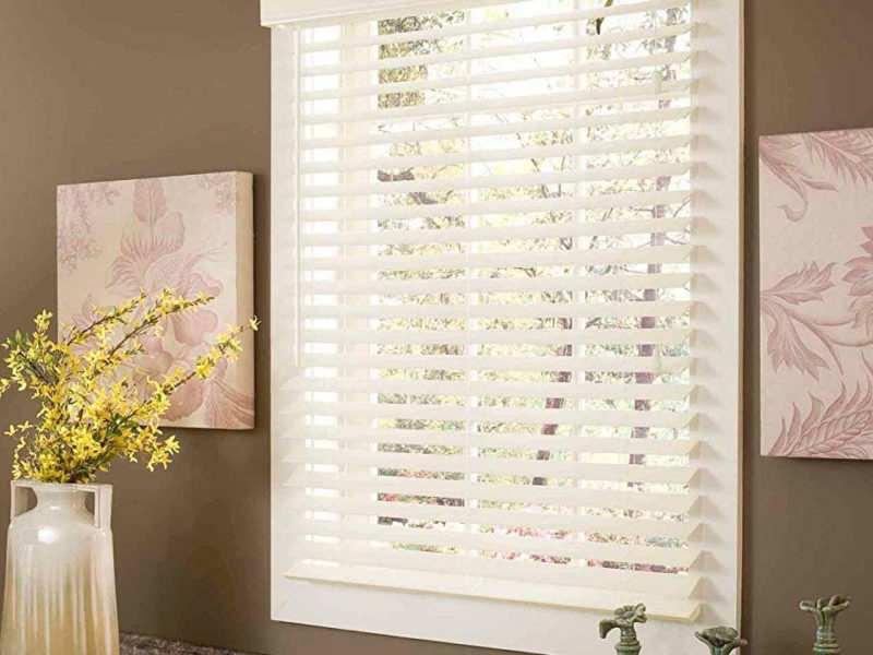 Faux Wood Blinds las vegas